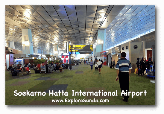 Terminal 3 of Soekarno Hatta International Airport - Jakarta.