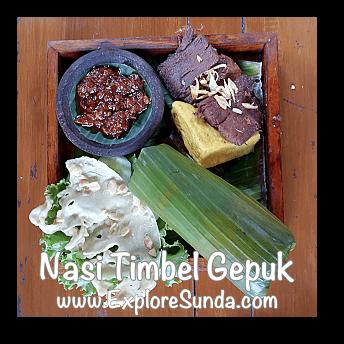 Nasi Timbel Gepuk from Sindang Reret Restaurant, Cikole - Lembang