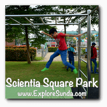 Monkey bar at Scientia Square Park, Summarecon Serpong