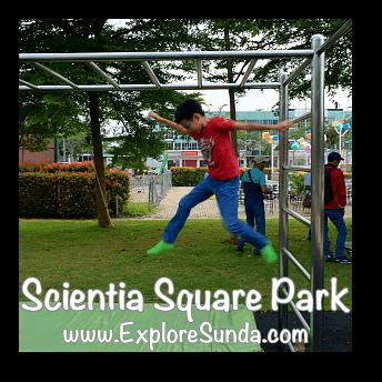 Monkey bar at Scientia Square Park, Summarecon Serpong