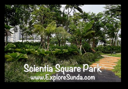 Gardens at Scientia Square Park - Summarecon Serpong, Tangerang Selatan
