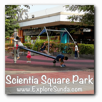 Playground at Scientia Square Park, Summarecon Serpong