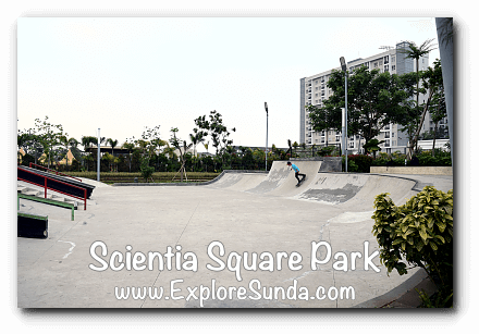 Skateboard challenge at Scientia Square Park - Summarecon Serpong, Tangerang Selatan