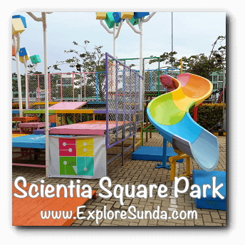 Slides and Ladders at Scientia Square Park, Summarecon Serpong