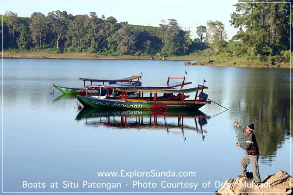 Boats at Situ Patengan - Ciwidey, Bandung