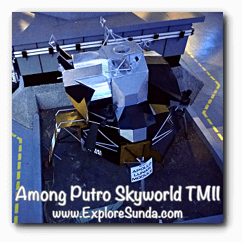 Apollo Lunar Module in Among Putro Skyworld, TMII