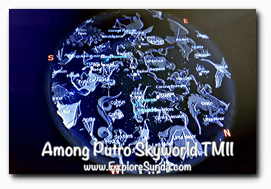 Constellations in Among Putro Skyworld, TMII