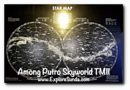 Star Map in Among Putro Skyworld, TMII