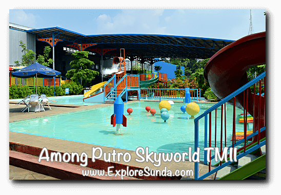 Waterpark in Among Putro Skyworld, TMII