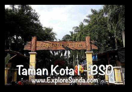 Taman Kota 1 - BSD City, Tangerang Selatan