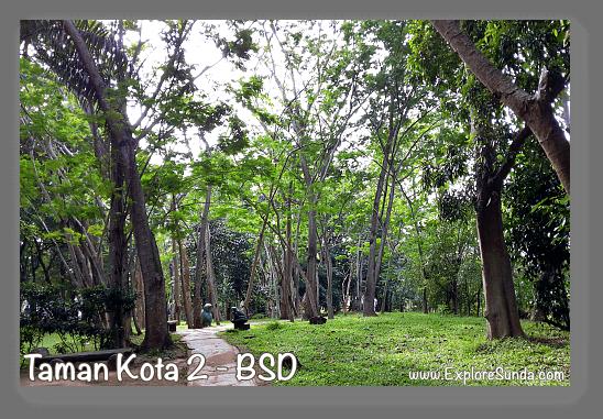 City parks and gardens in Tangerang Selatan [South Tangerang].