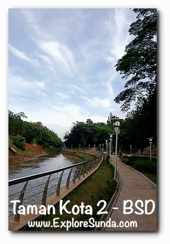 J.Letreng Riverpark, Taman Kota 2 - BSD City, Tangerang Selatan