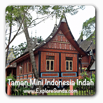 Taman Mini Indonesia Indah [Beautiful Indonesia Miniature Park], Jakarta.