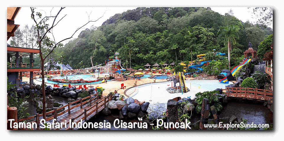Safari Waterpark in Taman Safari Indonesia Cisarua, Puncak