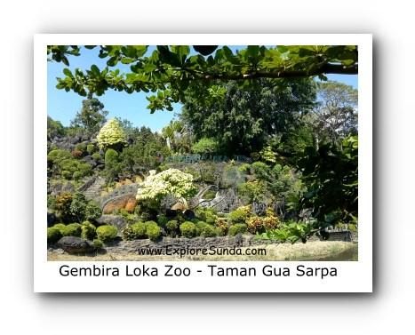 Gua Sarpa Garden at Gembira Loka Zoo