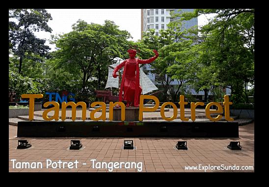 Potret garden in Tangerang.