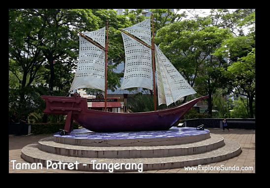Climb aboard sailor! @Taman Potret - Tangerang
