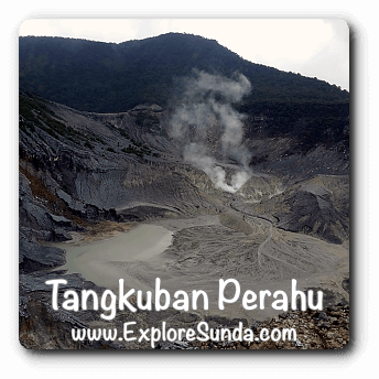 Queen Crater at Mount Tangkuban Perahu, Lembang, West Java