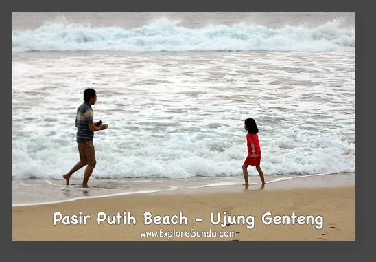 Pasir Putih Beach [White Sandy Beach] - Ujung Genteng.