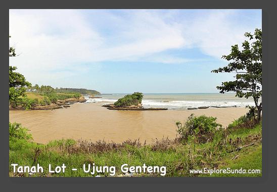 Tanah Lot at Ujung Genteng, West Java.