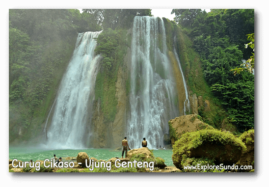 Curug Cikaso [Cikaso Waterfall] - Ujung Genteng.