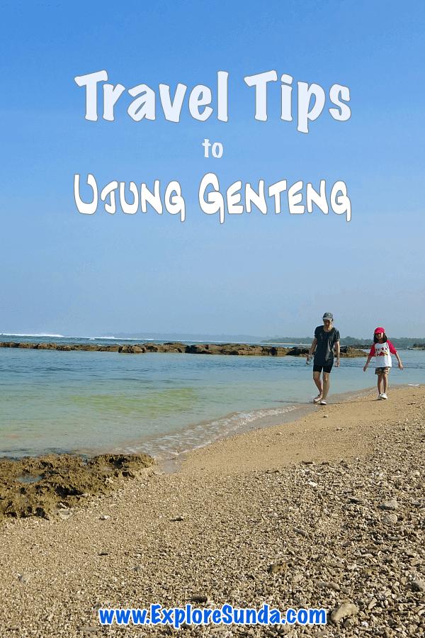 Explore #UjungGenteng #beach | Visit the #GreenTurtleConservatory at #Pangumbahan beach, #CurugCikaso | #ExploreSunda.com