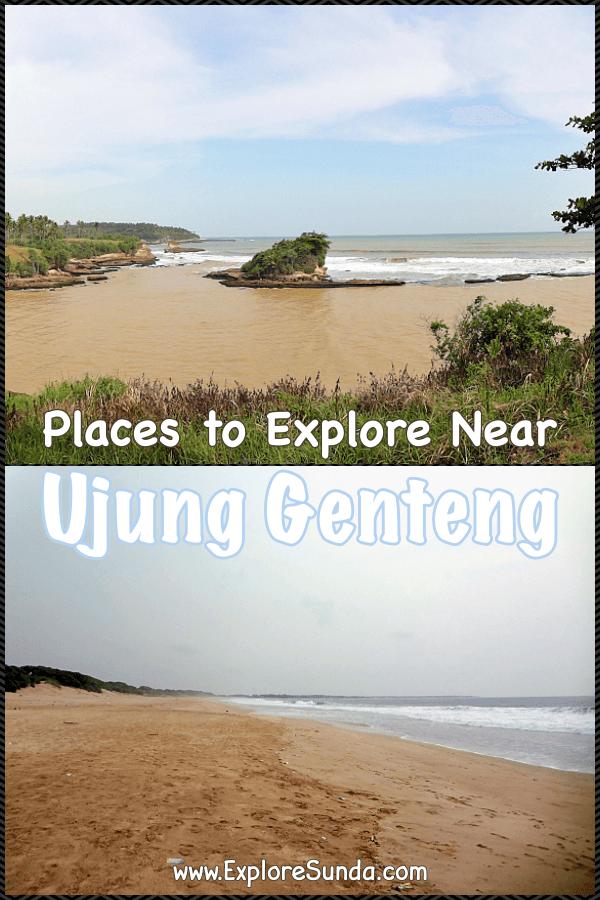 Explore the vicinity of #UjungGenteng | #PasirPutih beach | #GreenTurtle conservatory at #Pangumbahan #Beach | the #Waterfall of #CurugCikaso | #ExploreSunda.com