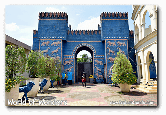 Castle at World of Wonders Park, Tangerang