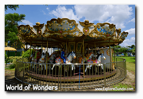 Carousel at World of Wonders Park, Tangerang