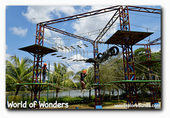 Outbound at World of Wonders Park, Tangerang