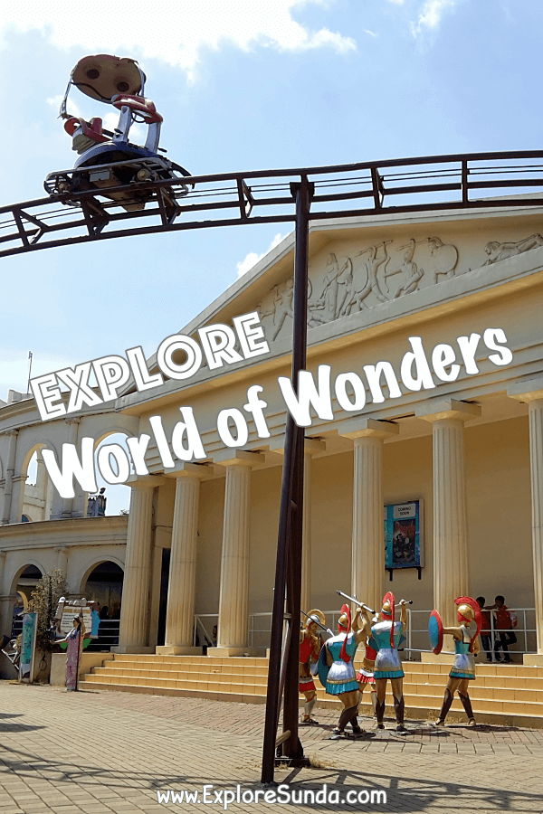 Have Fun in #WorldOfWonders | #Tangerang | #ExploreSunda