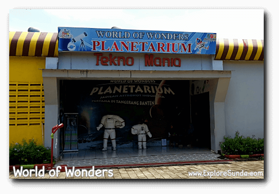 Planetarium at World of Wonders Park, Tangerang
