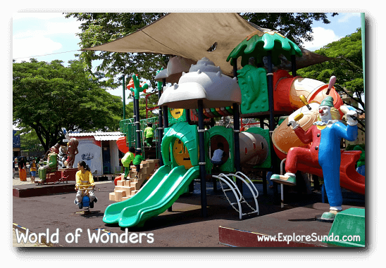 A children playground at World of Wonders Park, Tangerang