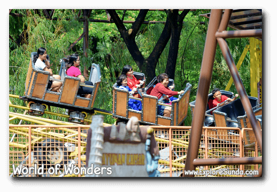 A ride at World of Wonders Park, Tangerang