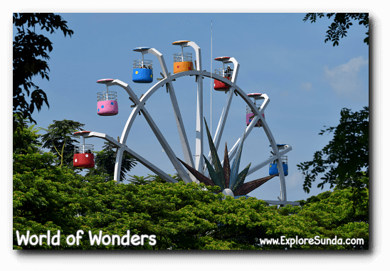 The Ferris Wheel at World of Wonders Park, Tangerang