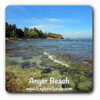 Anyer and Carita Beach