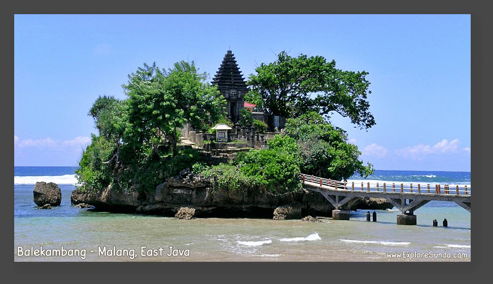 A Hindu Temple in Balekambang - Southern Malang, East Java.