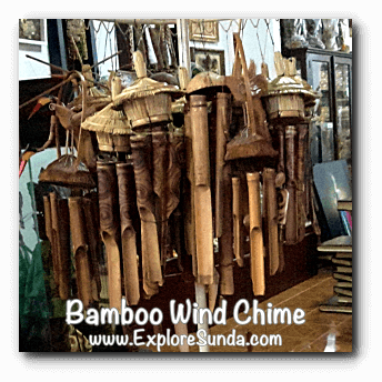 Bamboo wind chime