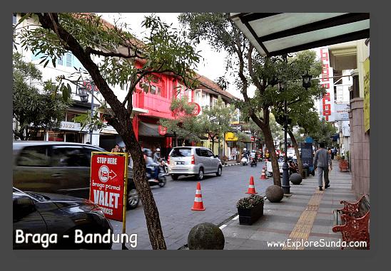 Braga street - Bandung.