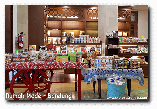Snacks Sold at Rumah Mode, One of The Popular Factory Outlets in Bandung.