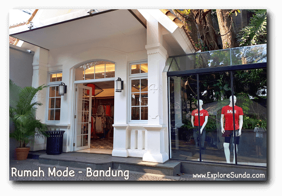 Rumah Mode, One of The Popular Factory Outlets in Bandung.