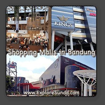 Shopping Malls in Bandung.