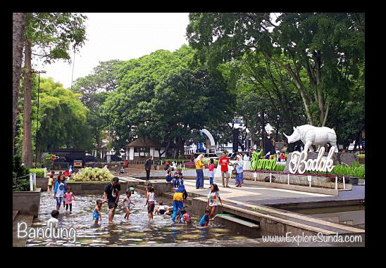 Taman Badak (Rhino Park) in City Hall Bandung.