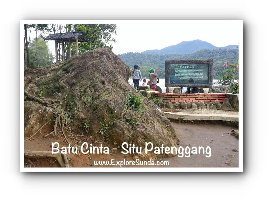 Batu Cinta at Situ Patengan a.k.a. Situ Patenggang Bandung.