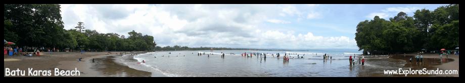 Batu Karas beach, Pangandaran