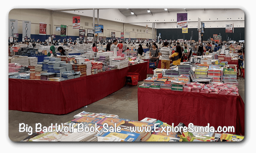 Big Bad Wolf Book Sale Jakarta, ICE - BSD City