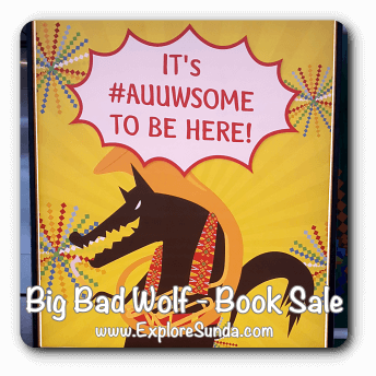 Big Bad Wolf Book Sale - an annual event at ICE, Tangerang Selatan
