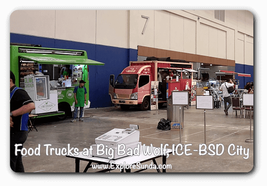 Food Truck at Big Bad Wolf Book Sale Jakarta, ICE - BSD City