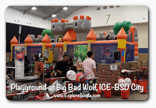 Playground at Big Bad Wolf Book Sale Jakarta, ICE - BSD City