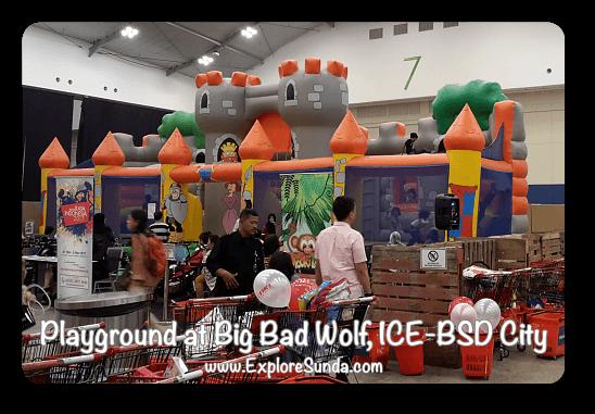 Playground at Big Bad Wolf Book Sale Jakarta, ICE - BSD City